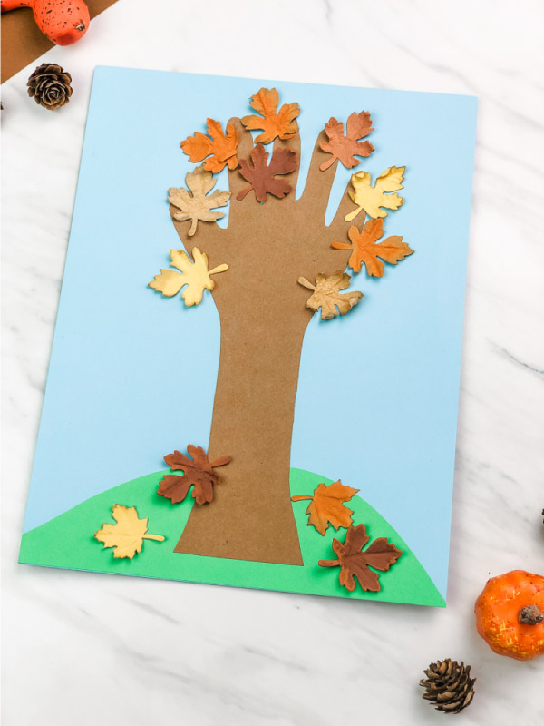 Handprint Fall Tree Craft
