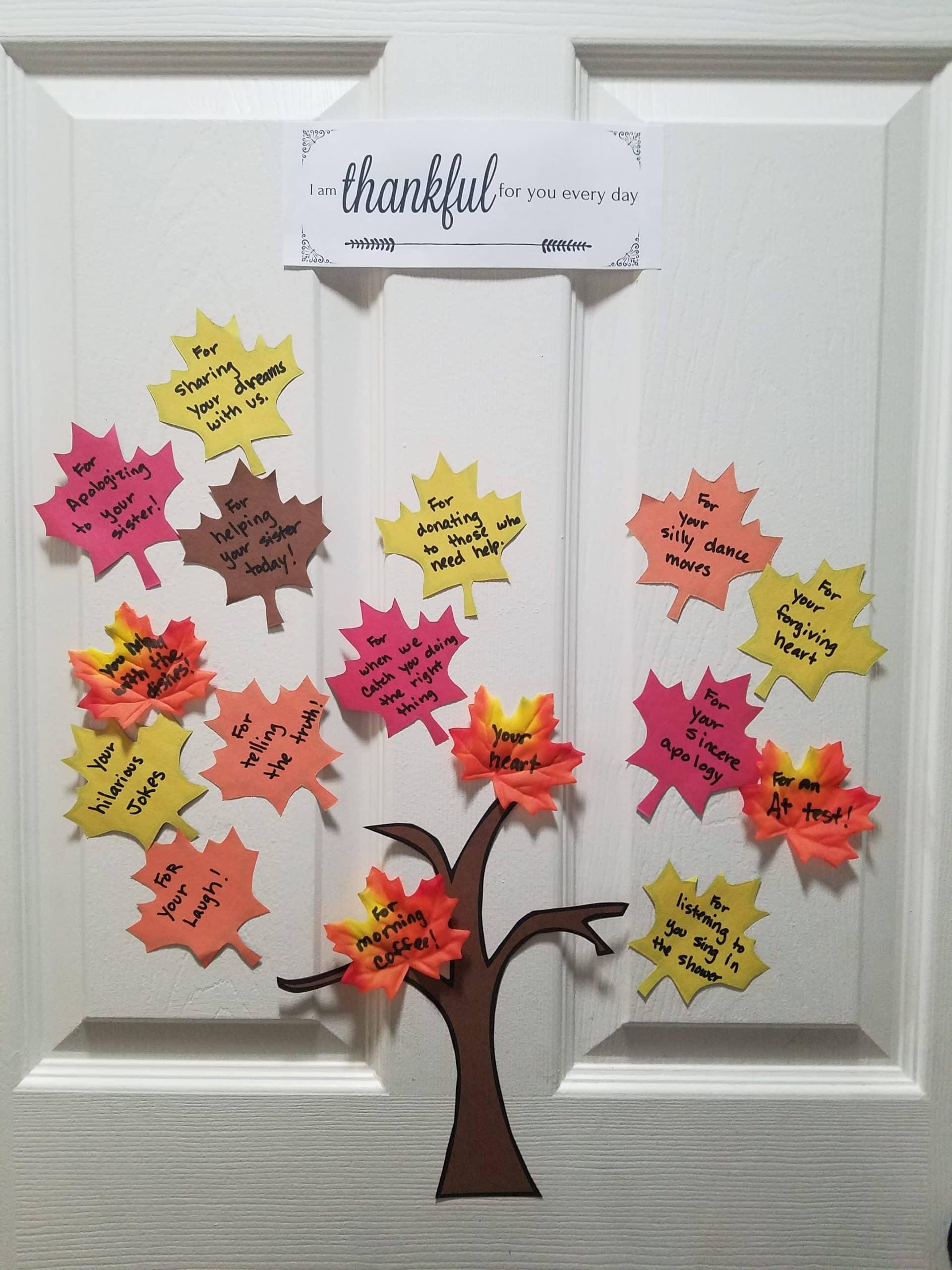 Thankful Door Trees