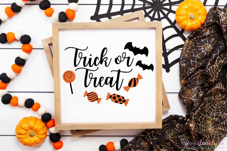 Trick or Treat Free SVG Cut File