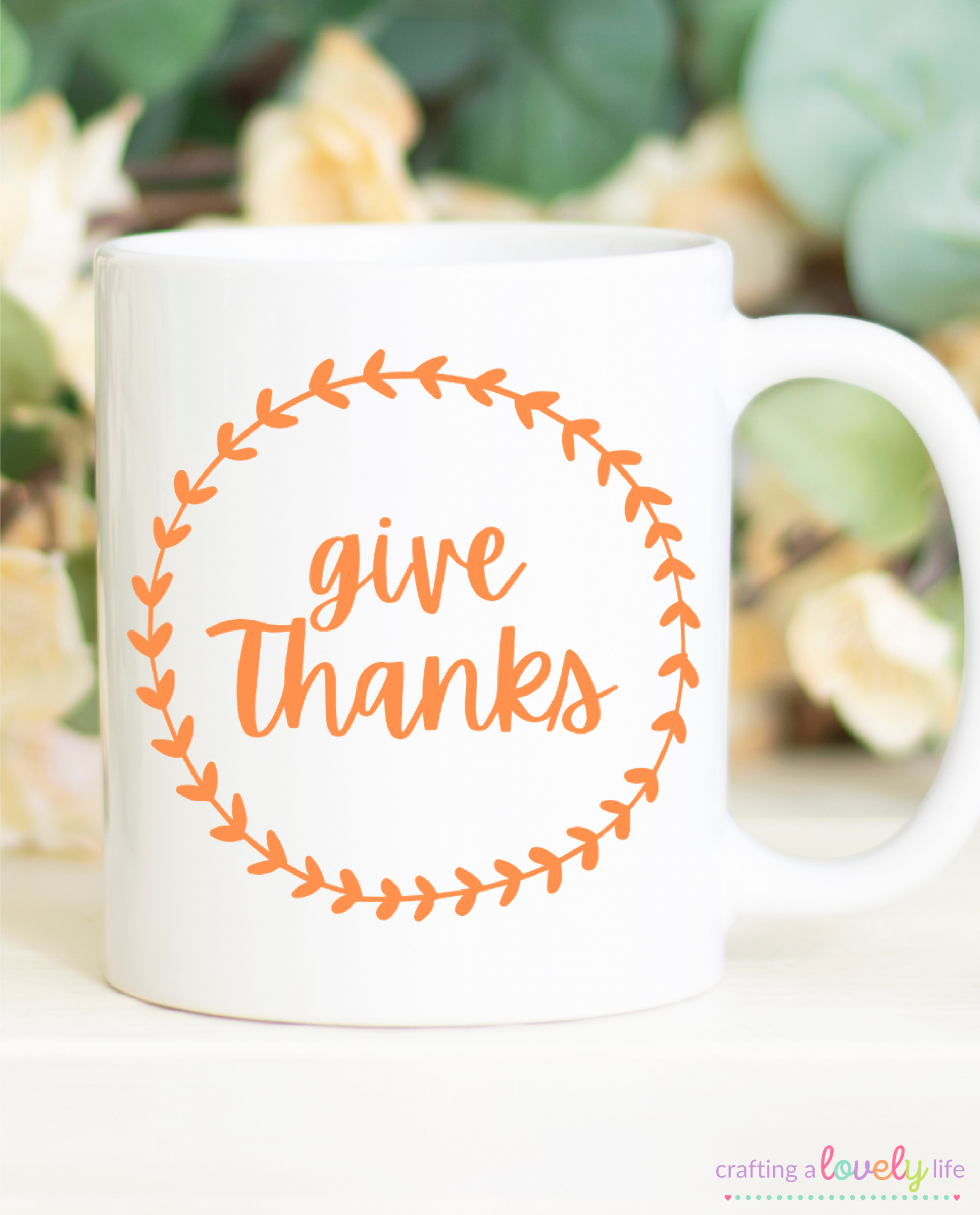 Give Thanks Free SVG Cut File