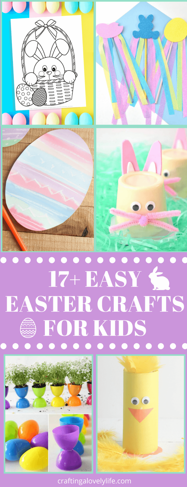 17+ Easy Easter Crafts for Kids