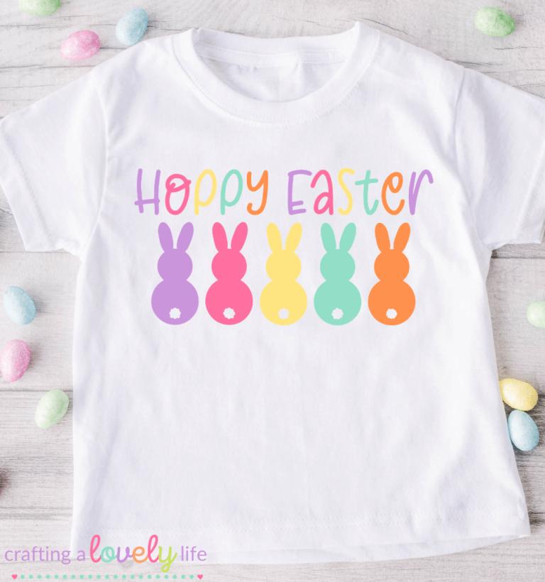 Free Hoppy Easter SVG Cut File