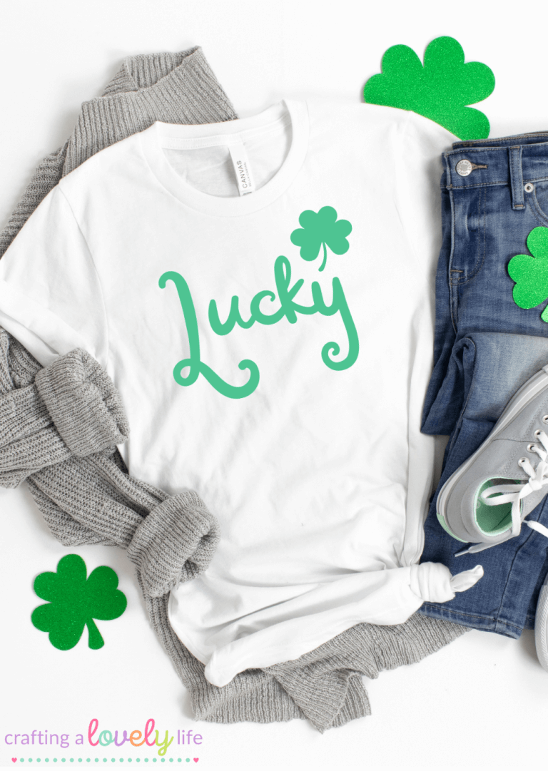 Lucky Free St. Patrick's Day SVG Cut Files