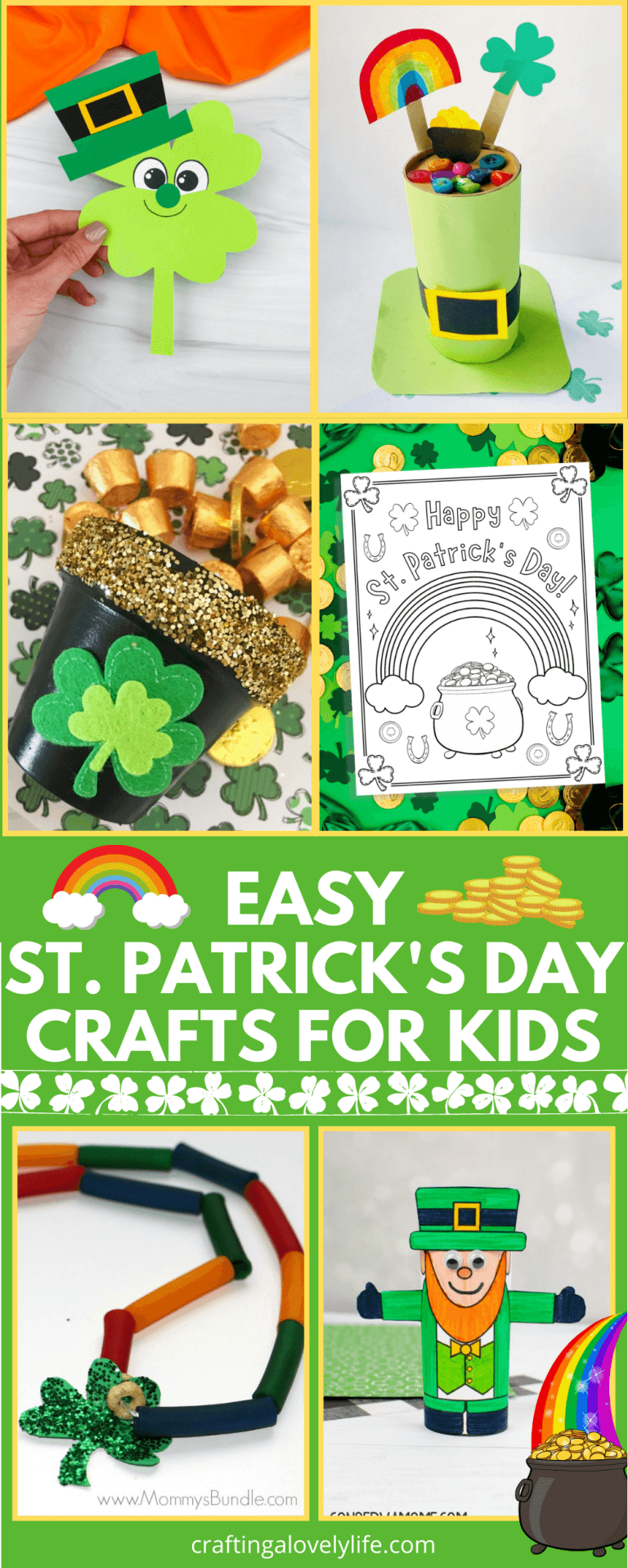 St. Patrick's Day Craft Ideas For Kids