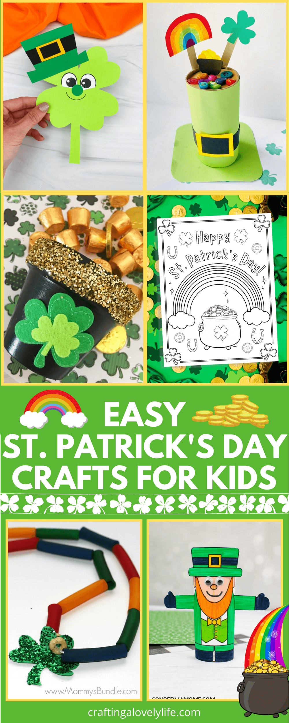 Easy St. Patrick's Day Craft Ideas For Kids