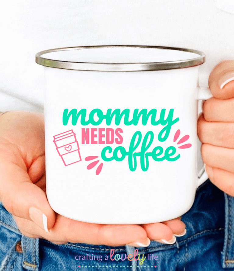 Mommy Needs Coffee Free SVG Cut File