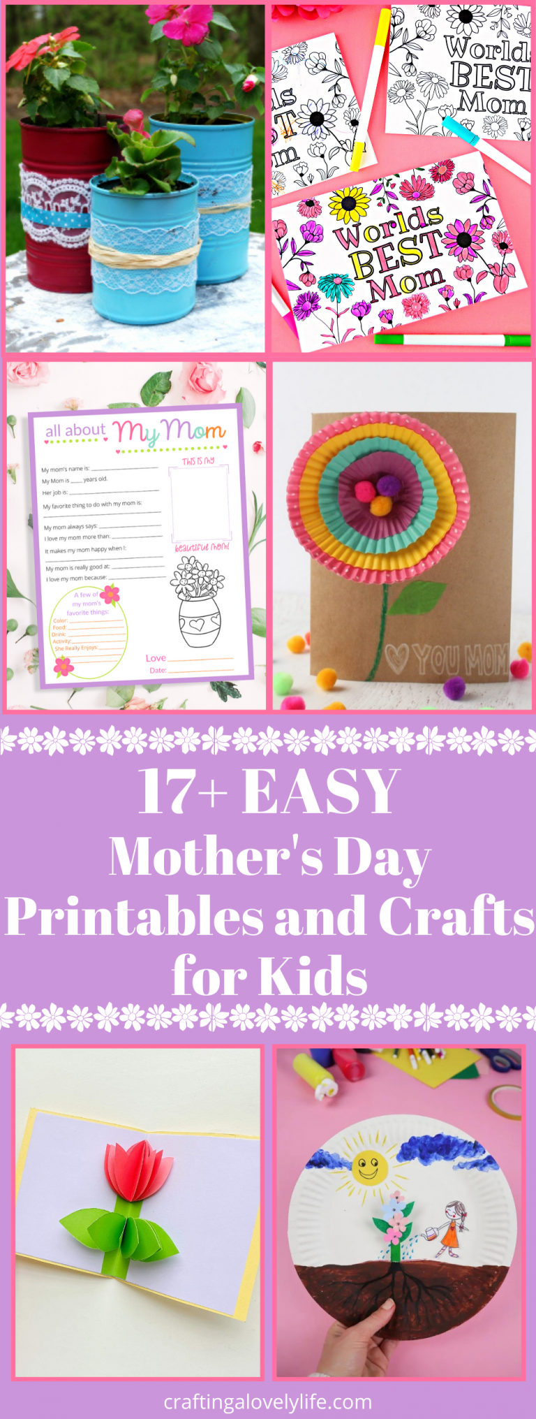 Free Mother's Day Printables and Crafts