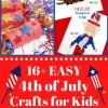 16+ Easy 4th of July Crafts for Kids