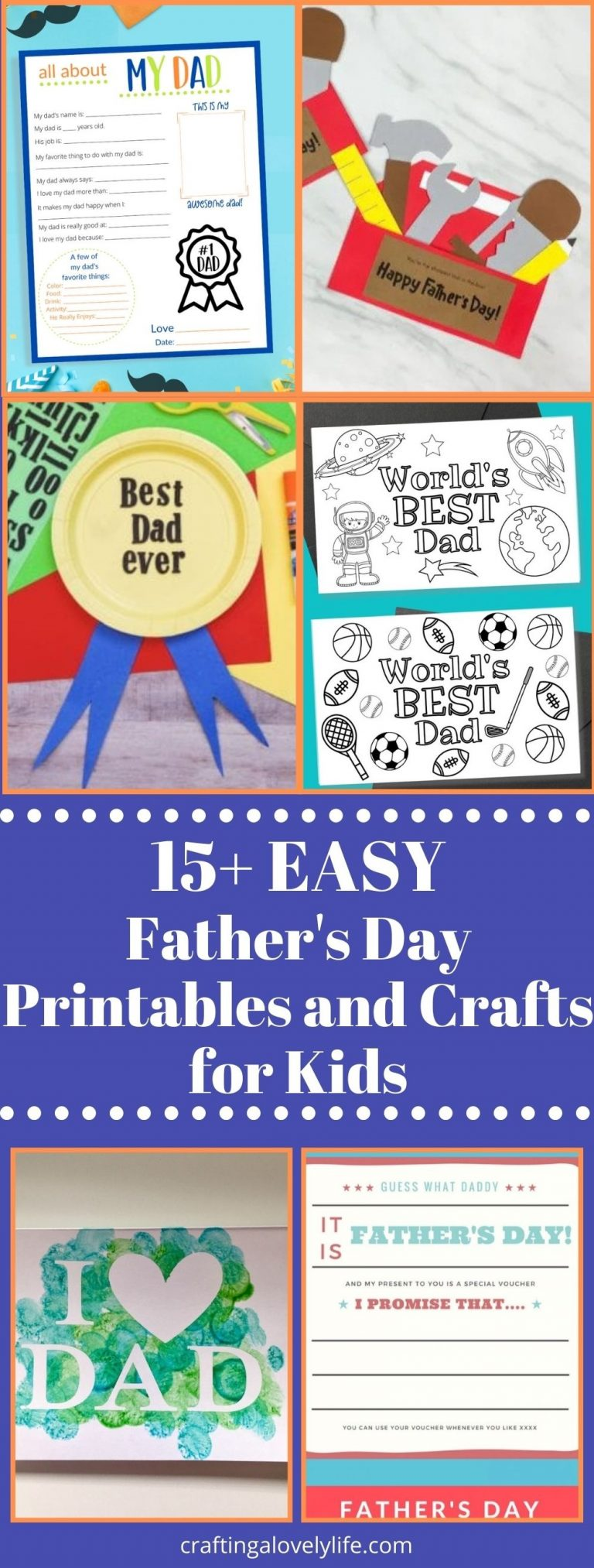15+ Easy Father's Day Crafts for Kids