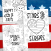 4th of July Coloring Pages Free Printable