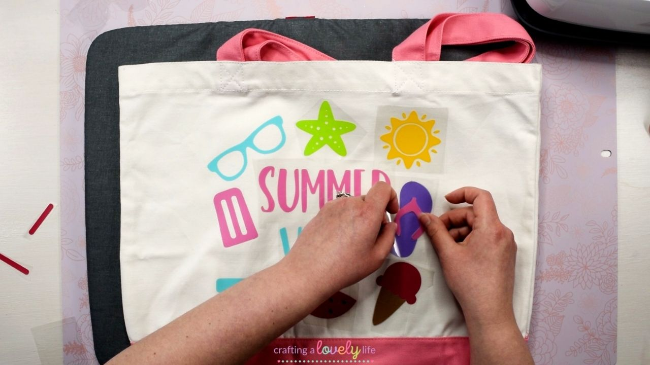 How to Layer Iron-On Vinyl with your Cricut
