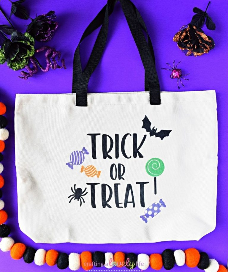 Trick or Treat Bag Cricut Infusible Ink Tutorial